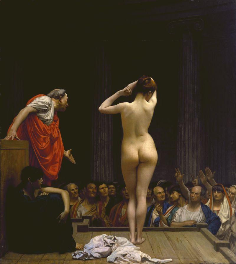 Roman-slave-market